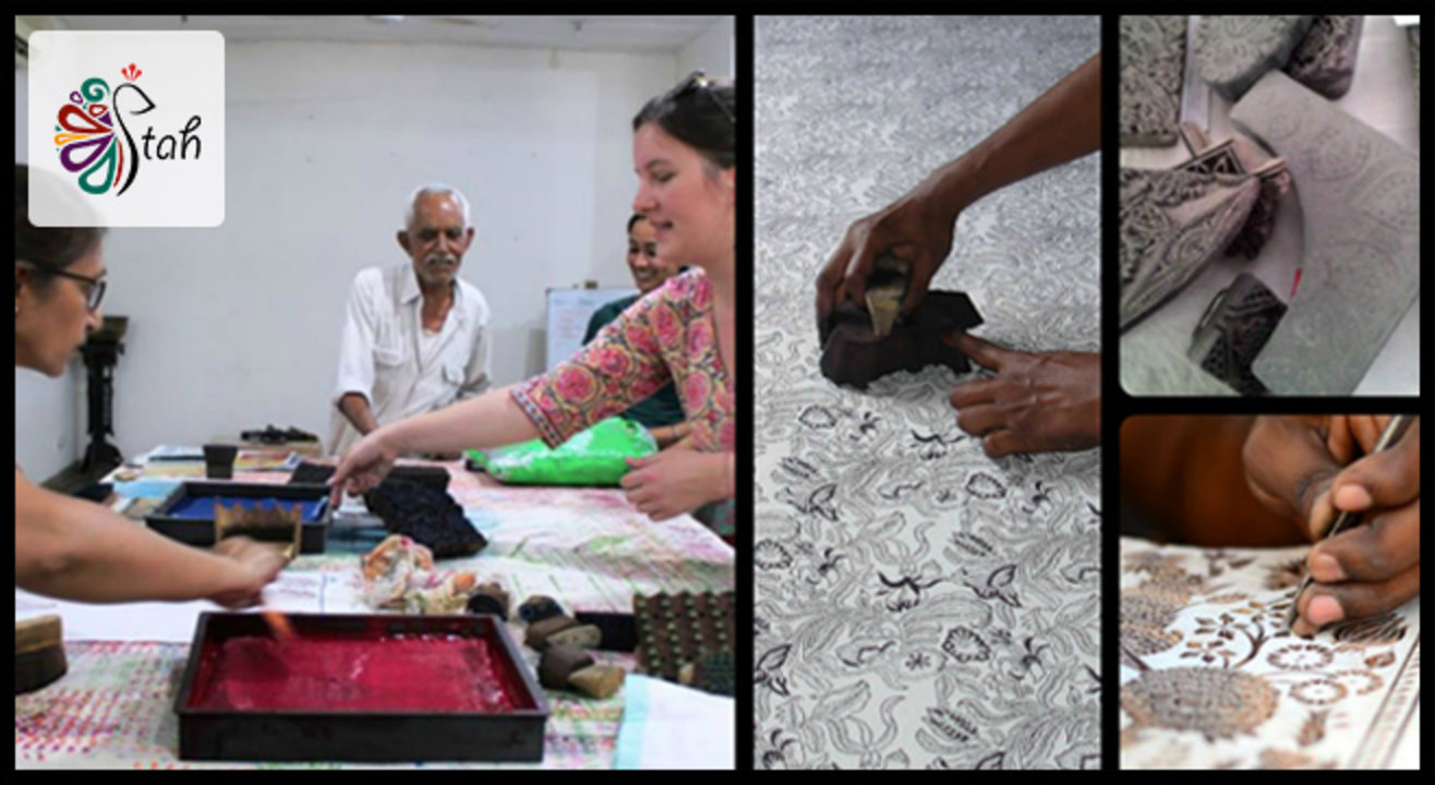 Dip & Stamp! Traditional Hand Block Printing Workshop
