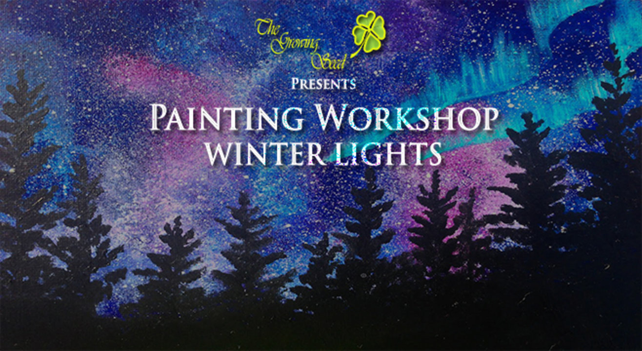 Painting Workshop: Winter Lights