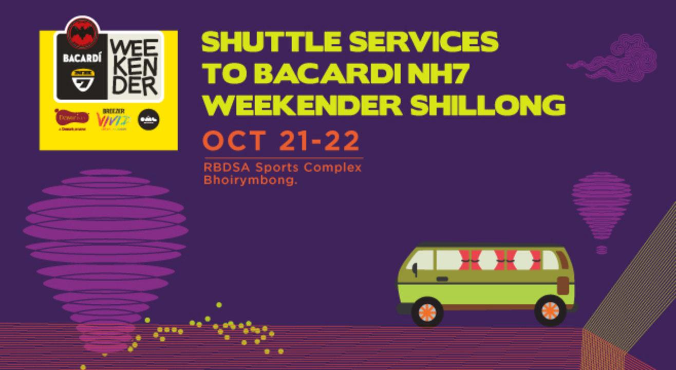 Ride to Bacardi NH7 Weekender Shillong