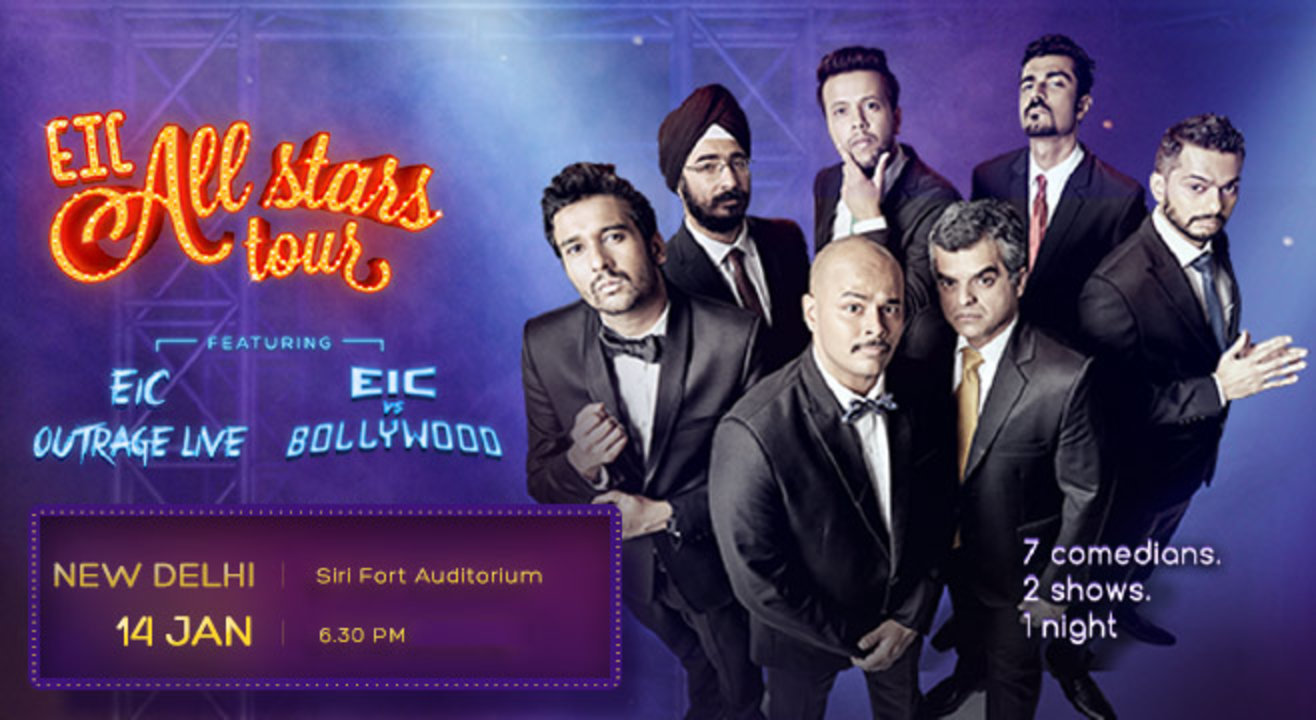 EIC All Stars Tour, Delhi