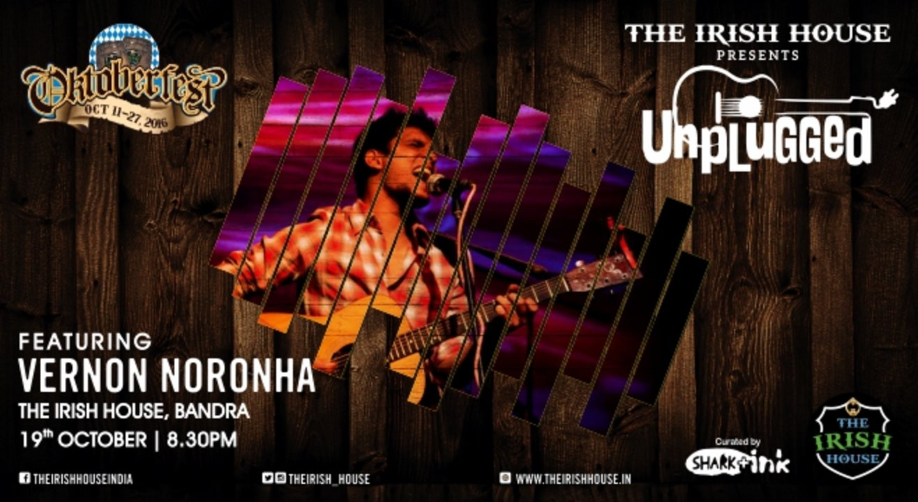 The Irish House presents: Unplugged with Vernon Nornonha