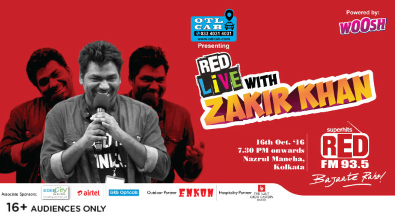 RED live with Zakir Khan, Kolkata