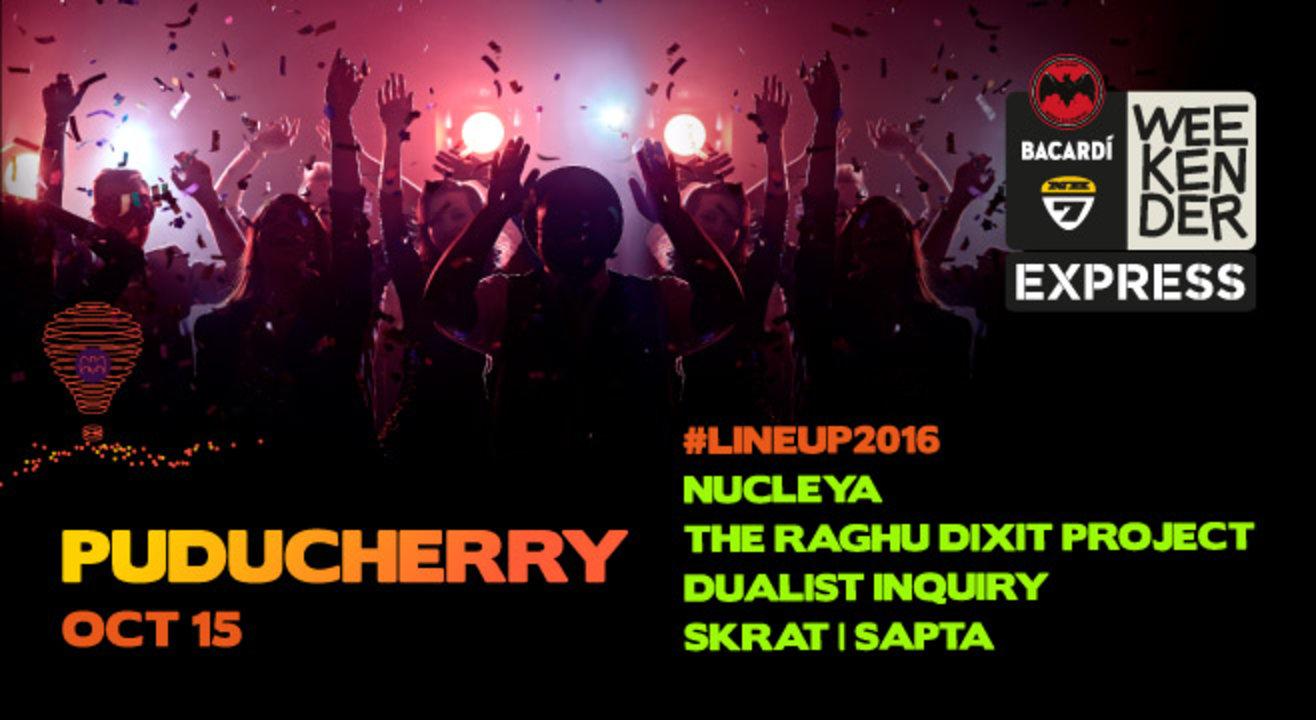 Bacardi NH7 Weekender Express, Puducherry