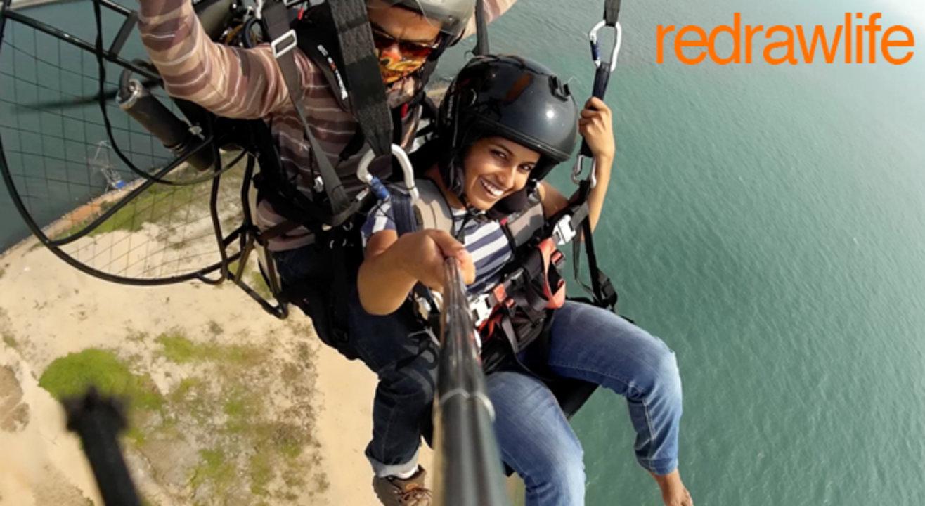 Tandem Paramotoring - Soar Above The Serene Beaches Of Kochi