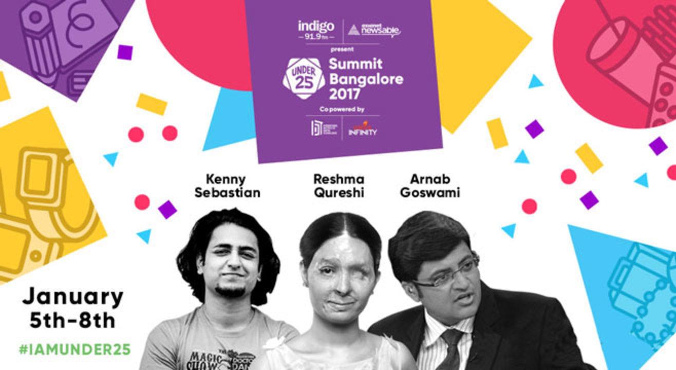 Under 25 Summit 2017, Bangalore