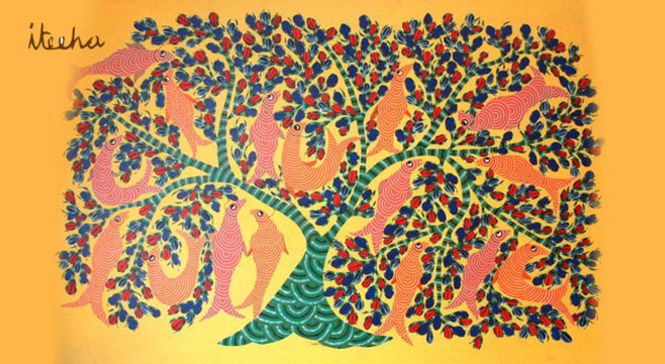 Gond Painting Workshop by Ritika Jhunjhunwala