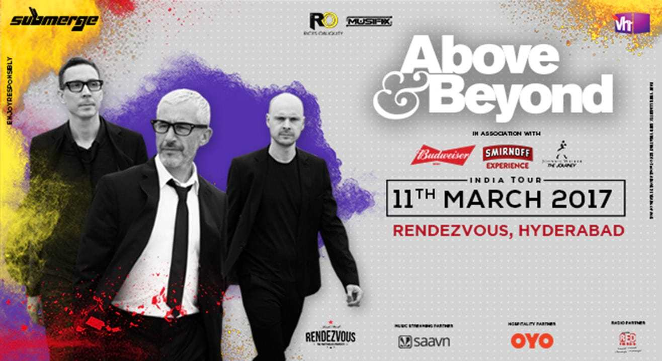 Above & Beyond India Tour, Hyderabad