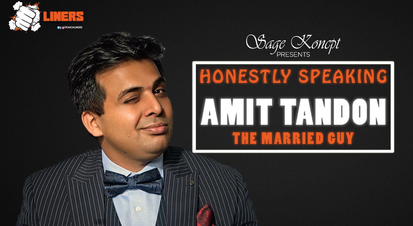 Punchliners: Honestly Speaking By Amit Tandon