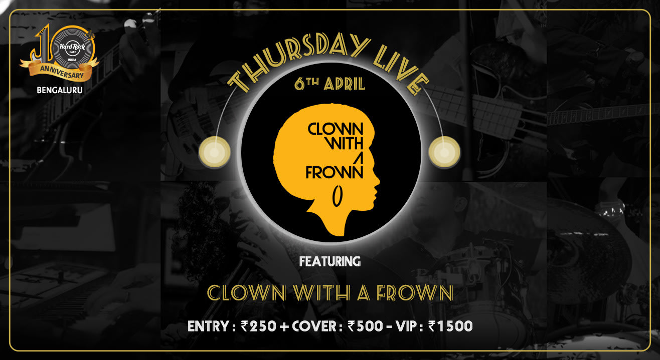 Clown With A Frown - Thursday Live!