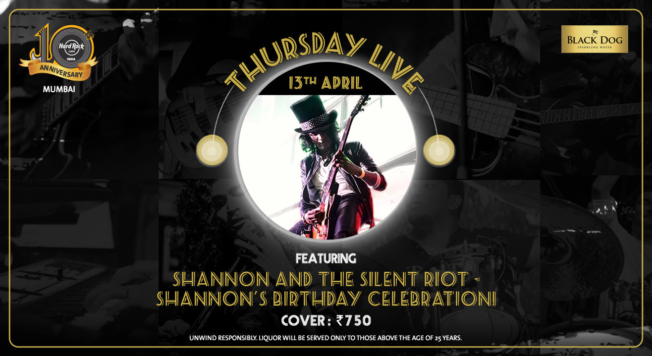Shannon and the Silent Riot - Shannon's Birthday Celebration!