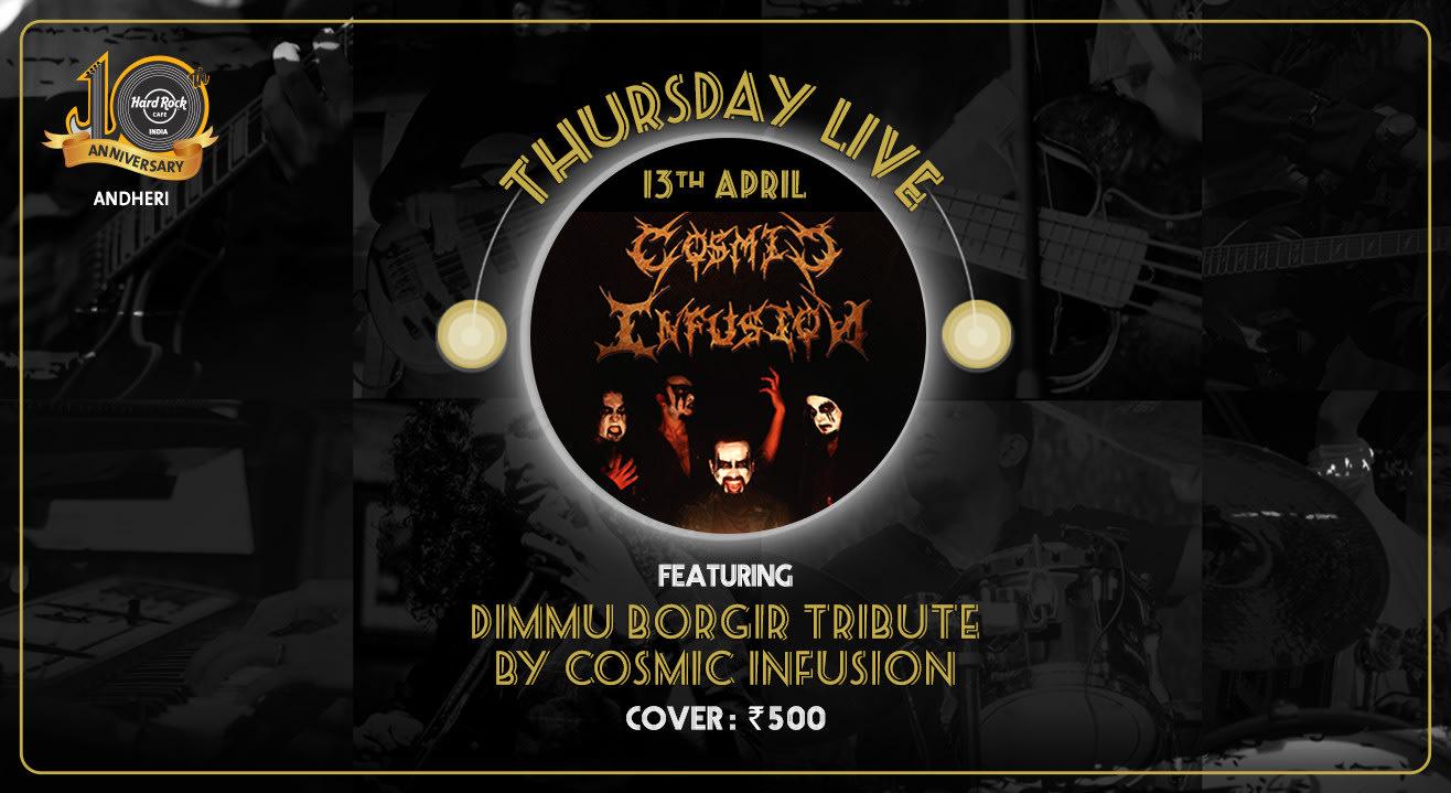 Dimmu Borgir Tribute by Cosmic Infusion - Thursday Live!
