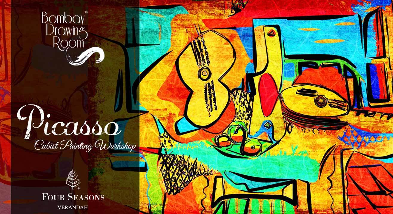 Picasso - Cubist painting Workshop by Bombay Drawing Room