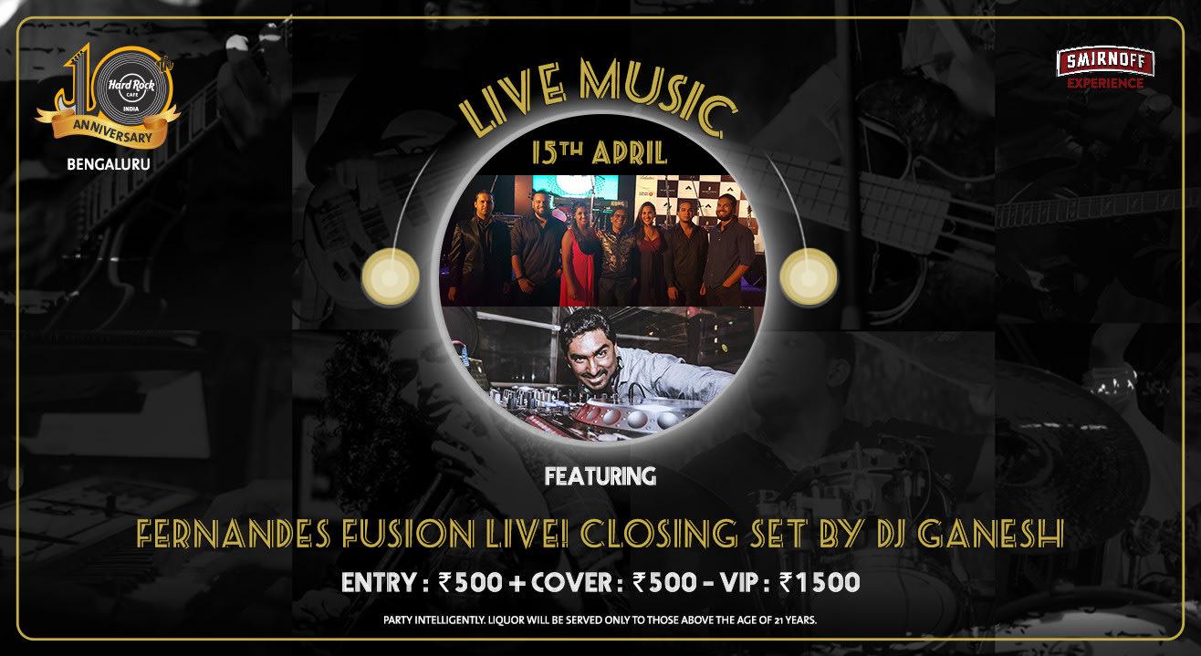 Fernandes Fusion Live! Closing set by DJ Ganesh