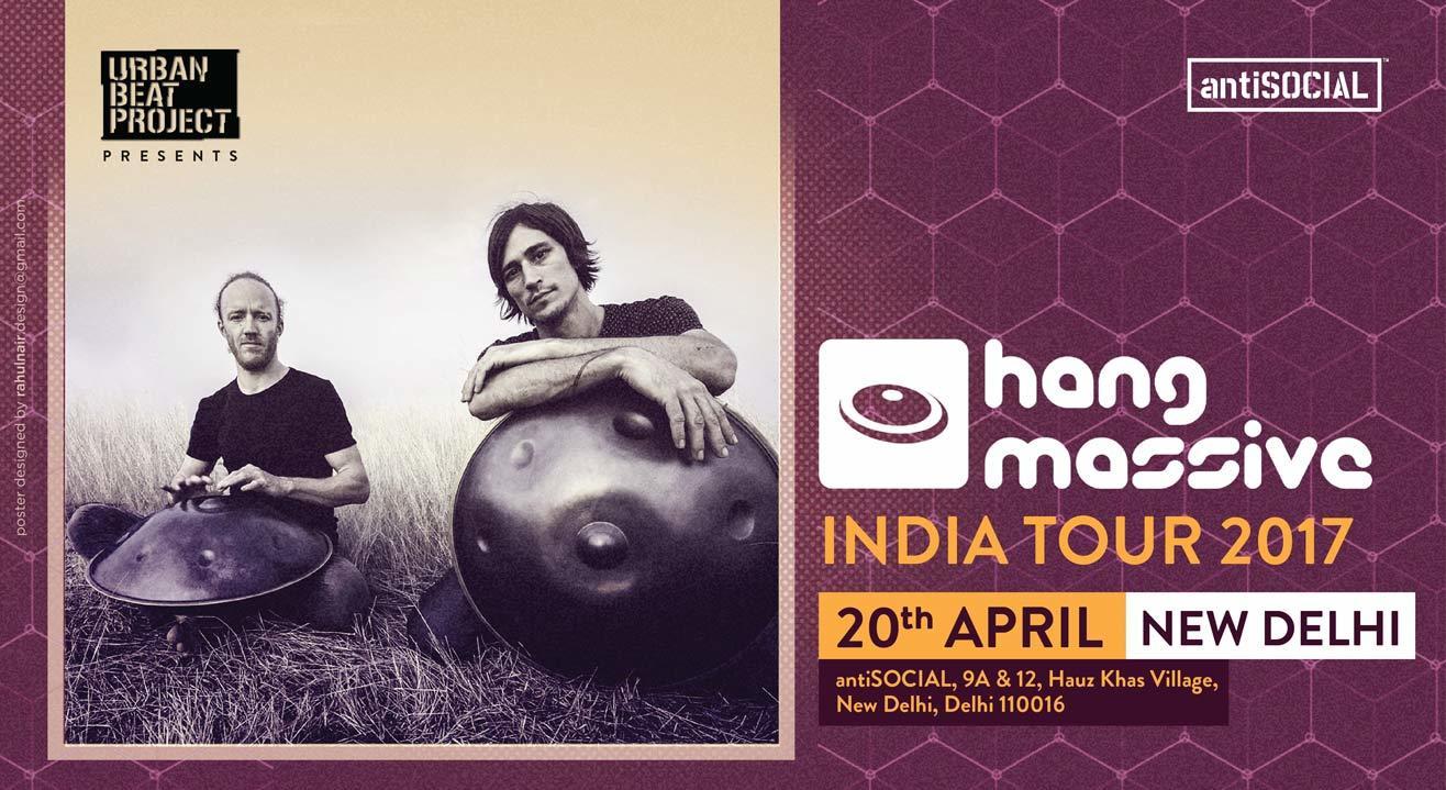 Hang Massive Live at antiSOCIAL Delhi