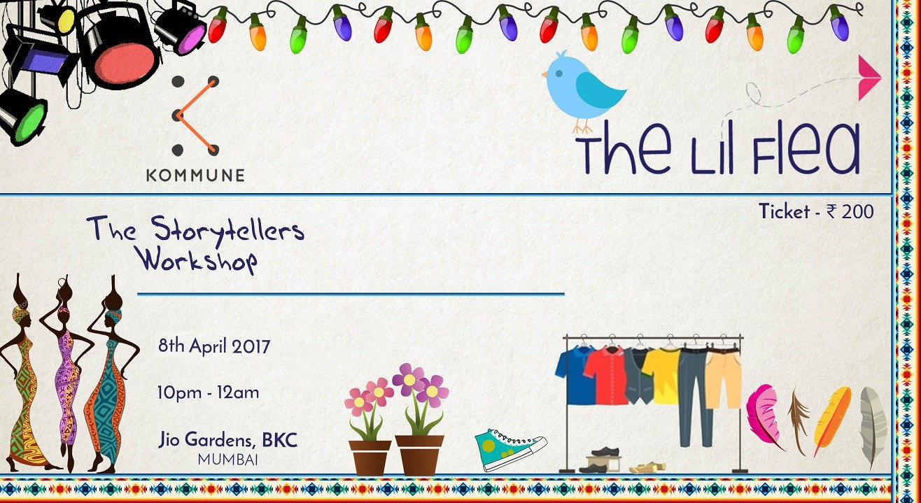 The Storytellers Workshop at The Lil Flea