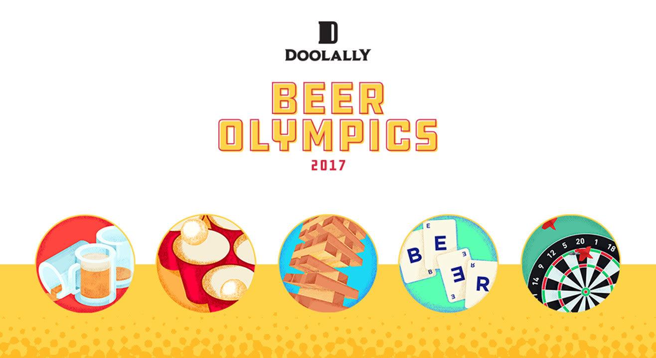 Doolally Beer Olympics 2017