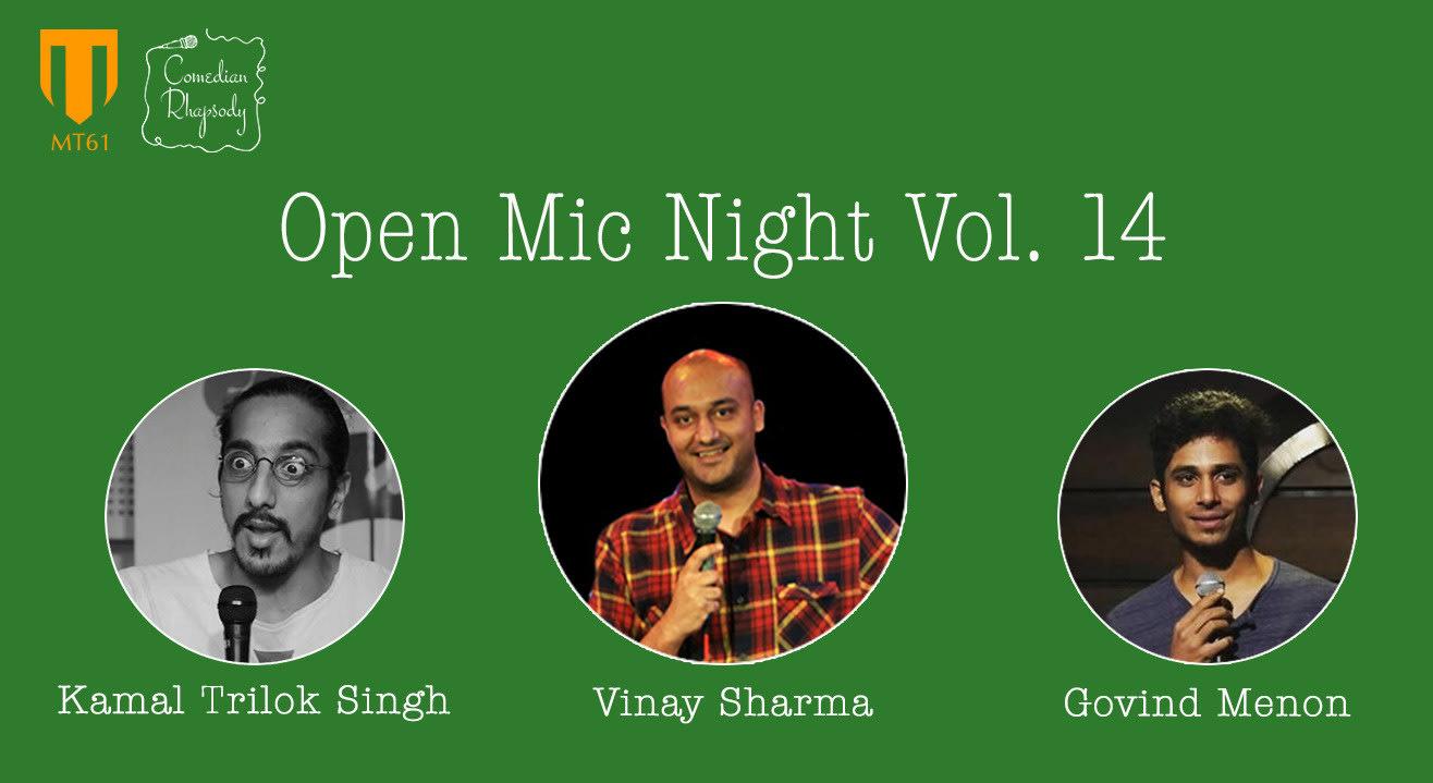 Comedian Rhapsody Open Mic Night Vol. 14