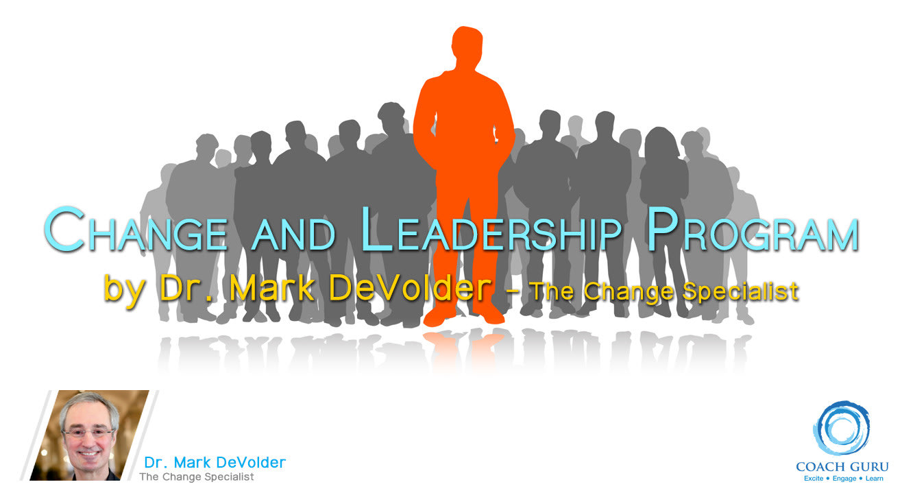 Change Management by Dr Mark DeVolder