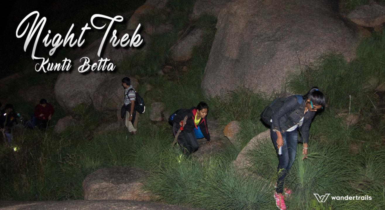 Night Trek at Kunti Betta