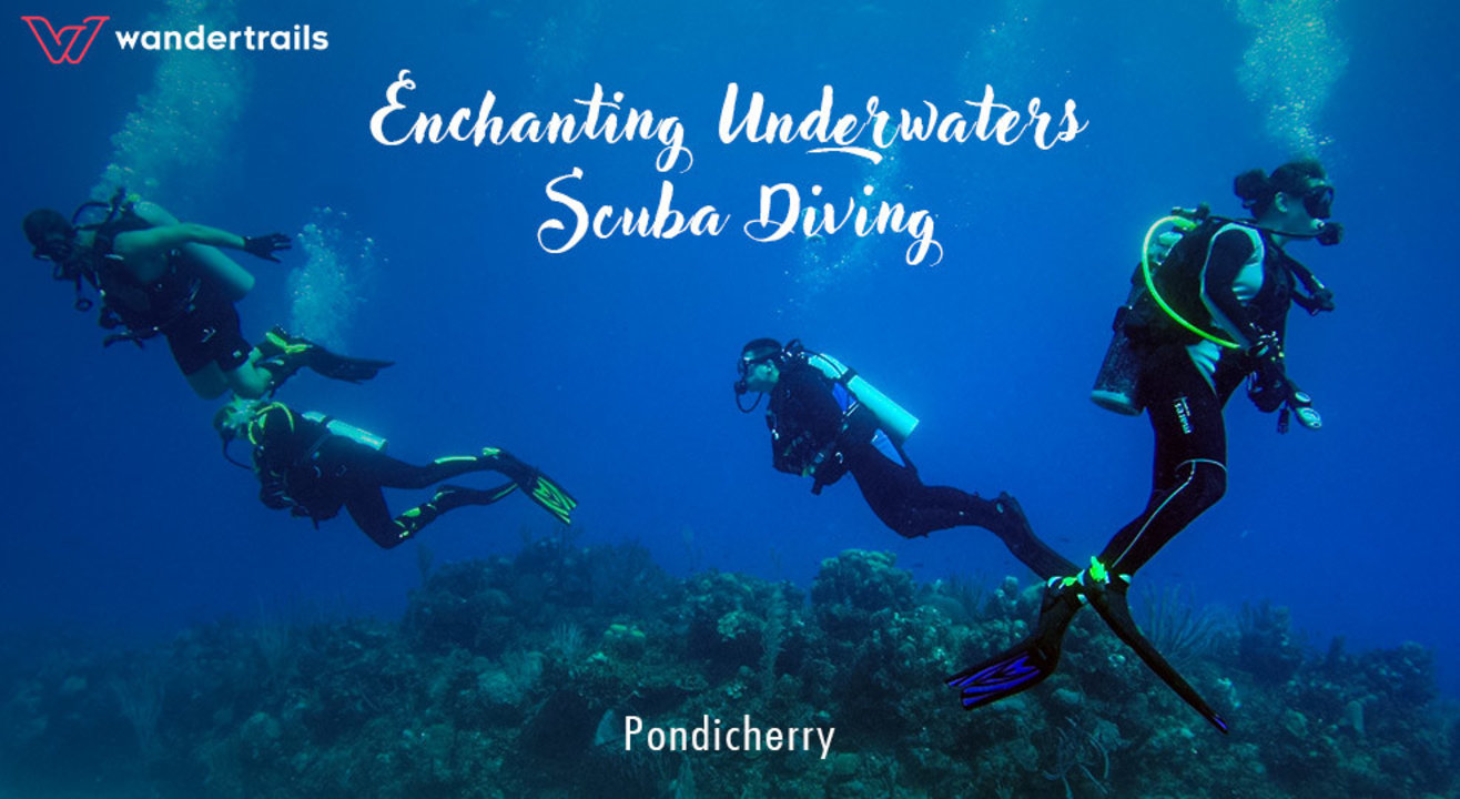 Enchanting underwaters - Scuba Diving in Pondicherry
