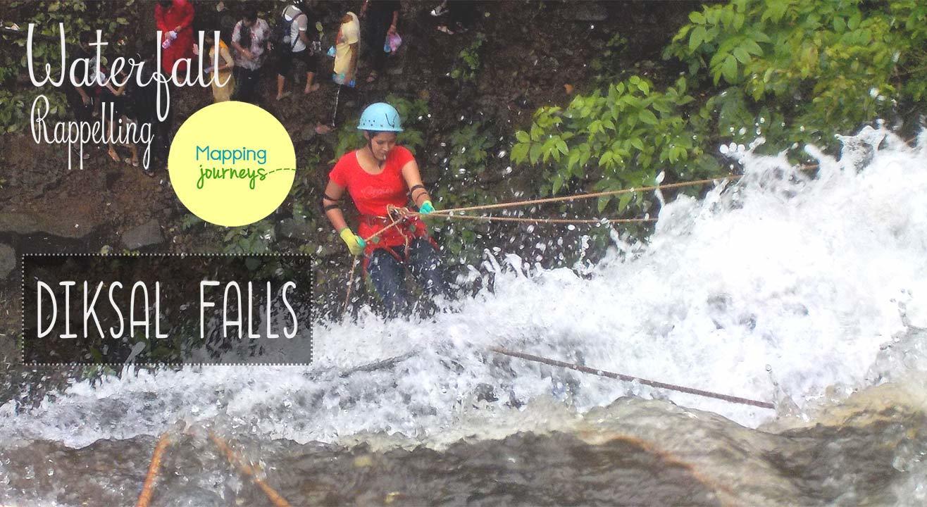 Waterfall Rappelling - Diksal Falls