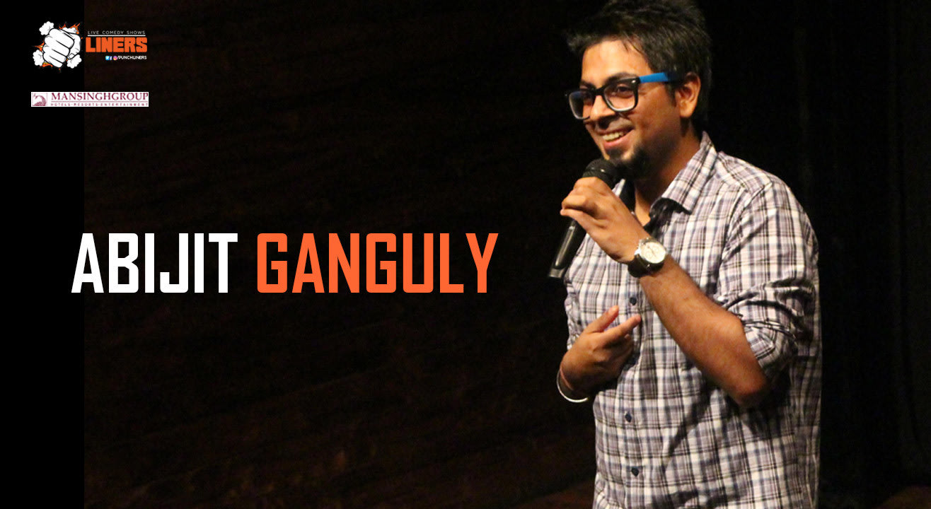 Punchliners: Stand Up Comedy Show ft. Abijit Ganguly in Jaipur