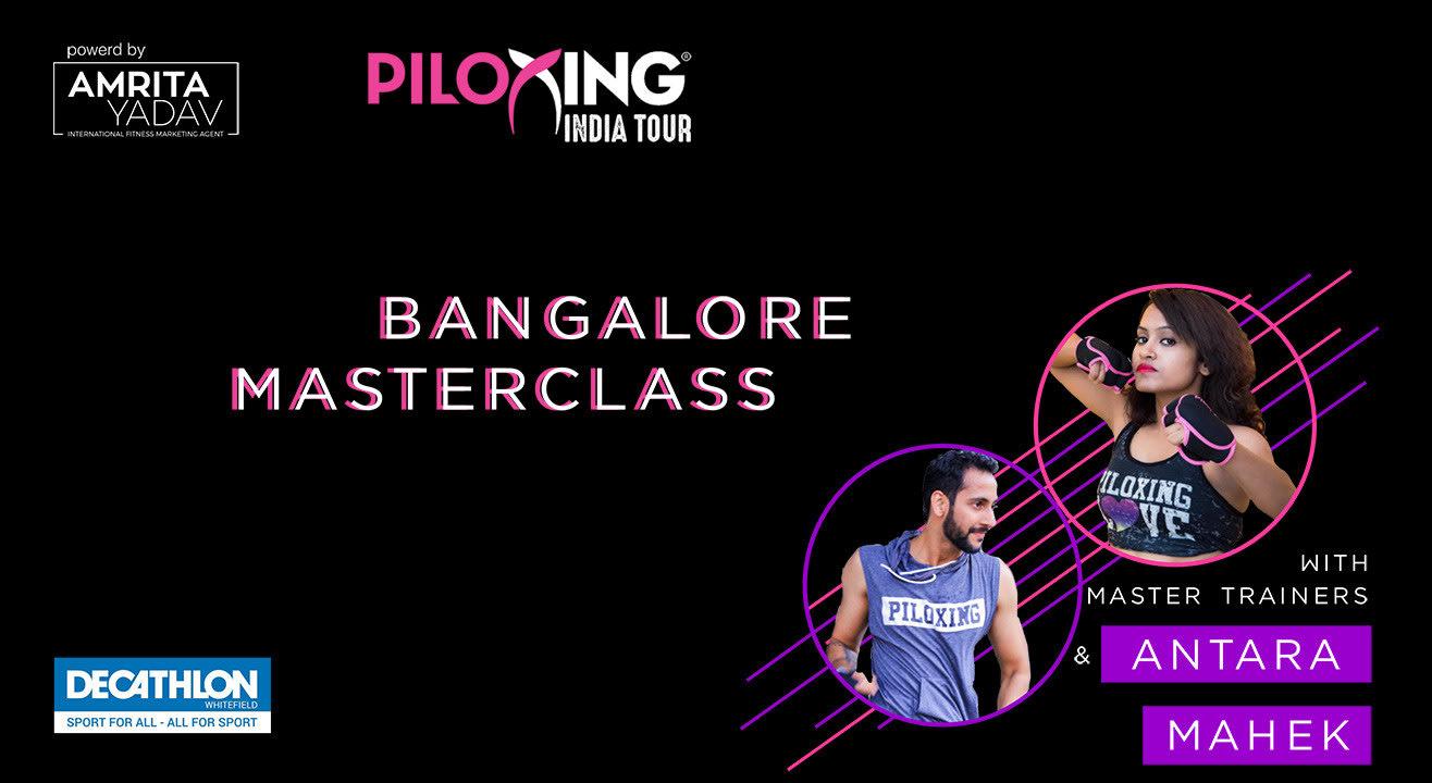 Piloxing India Tour And Zumba Master Class, Bangalore