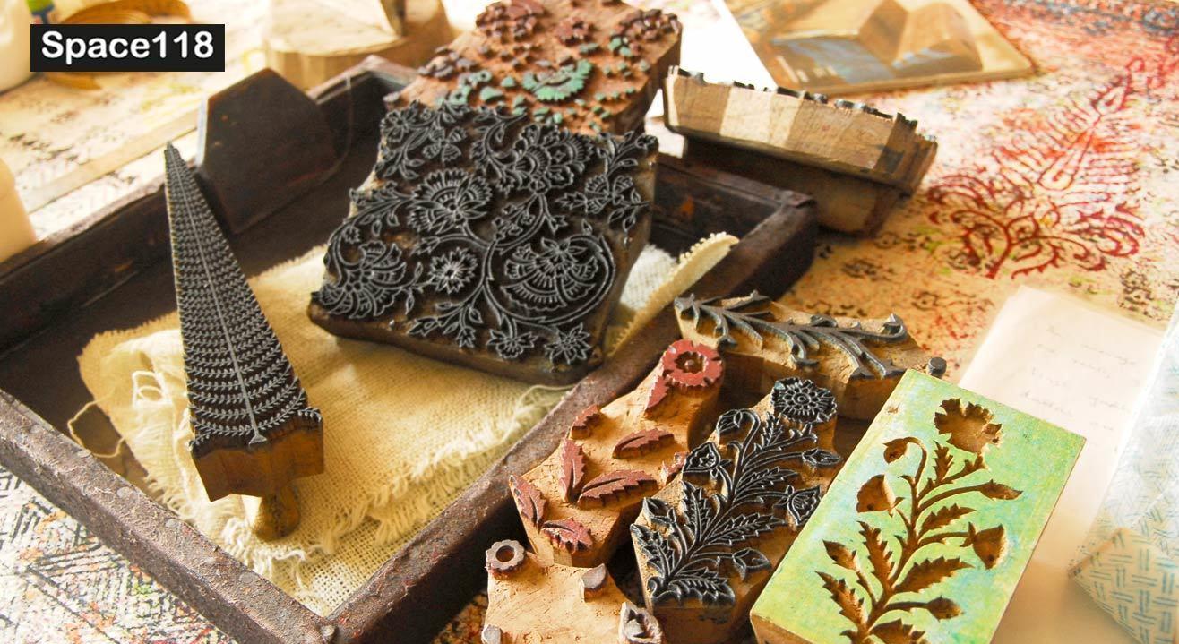 Block Printing Workshop by Shyamala Rao
