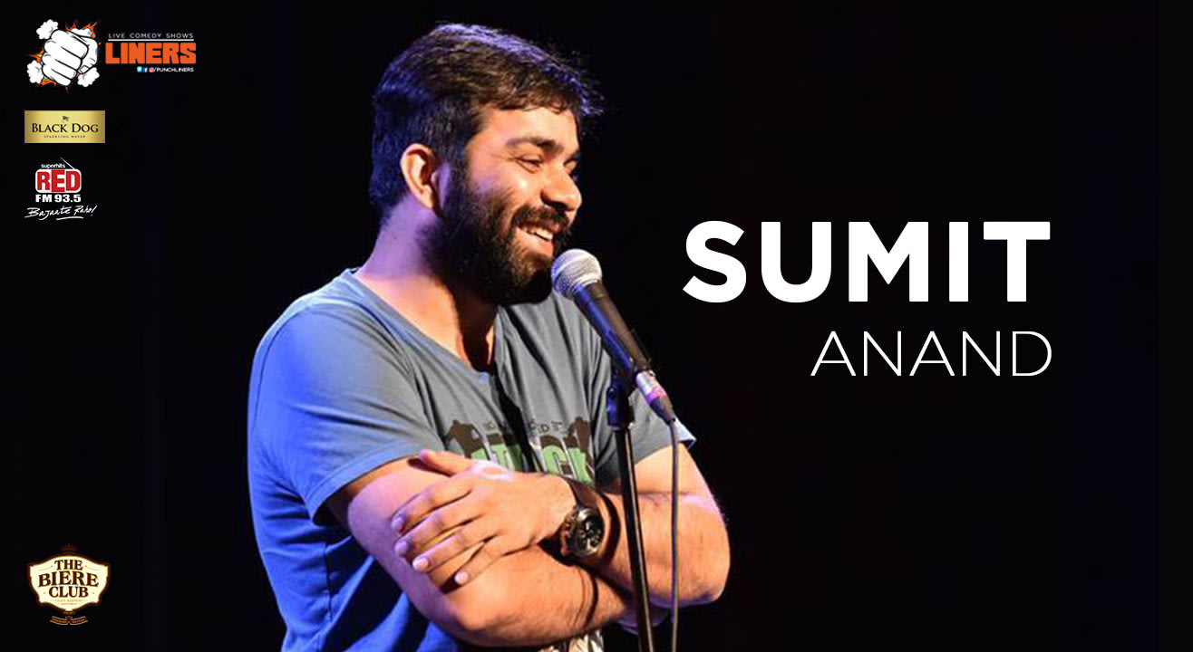 Punchliners: Stand Up Comedy Show feat Sumit Anand at Biere Club