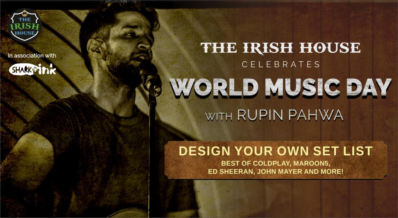 The Irish House Celebrates World Music Day