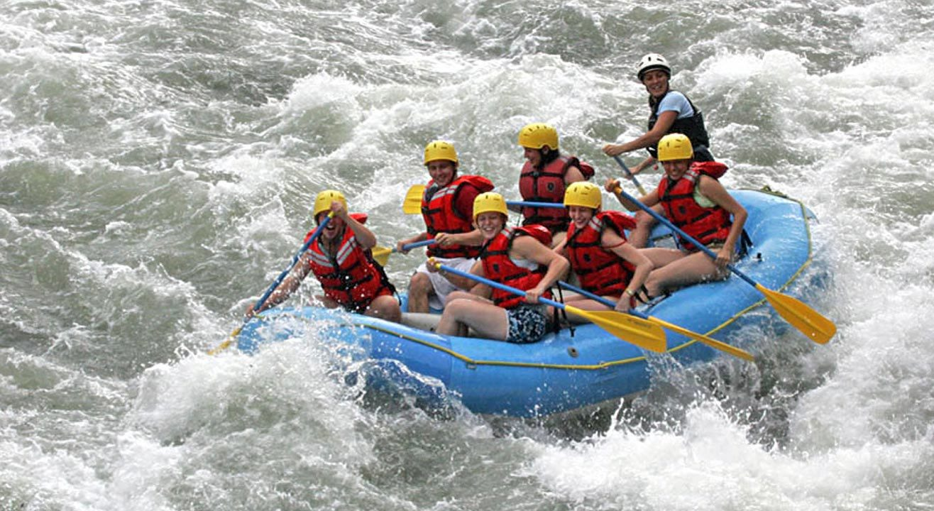 White Water Rafting at Kolad