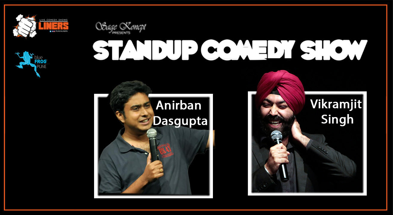 Punchliners: Stand Up Comedy Show feat. Anirban Dasgupta and Vikramjit Singh in Pune
