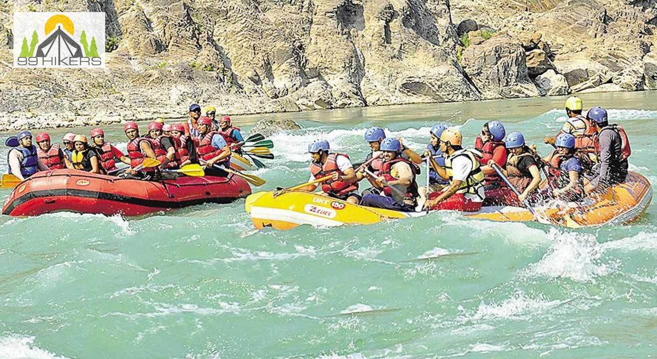 Adrenaline White Water River Rafting