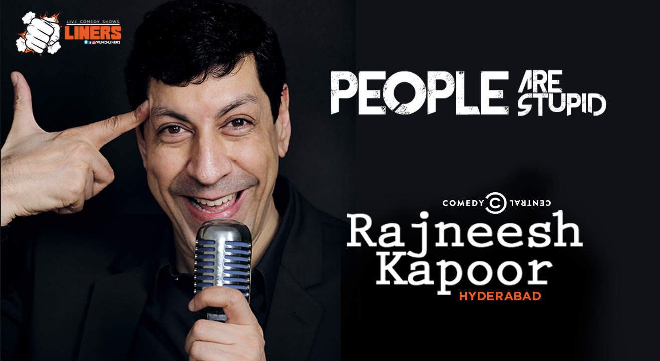 Punchliners: Stand Up Comedy Show feat. Rajneesh Kapoor in Hyderabad