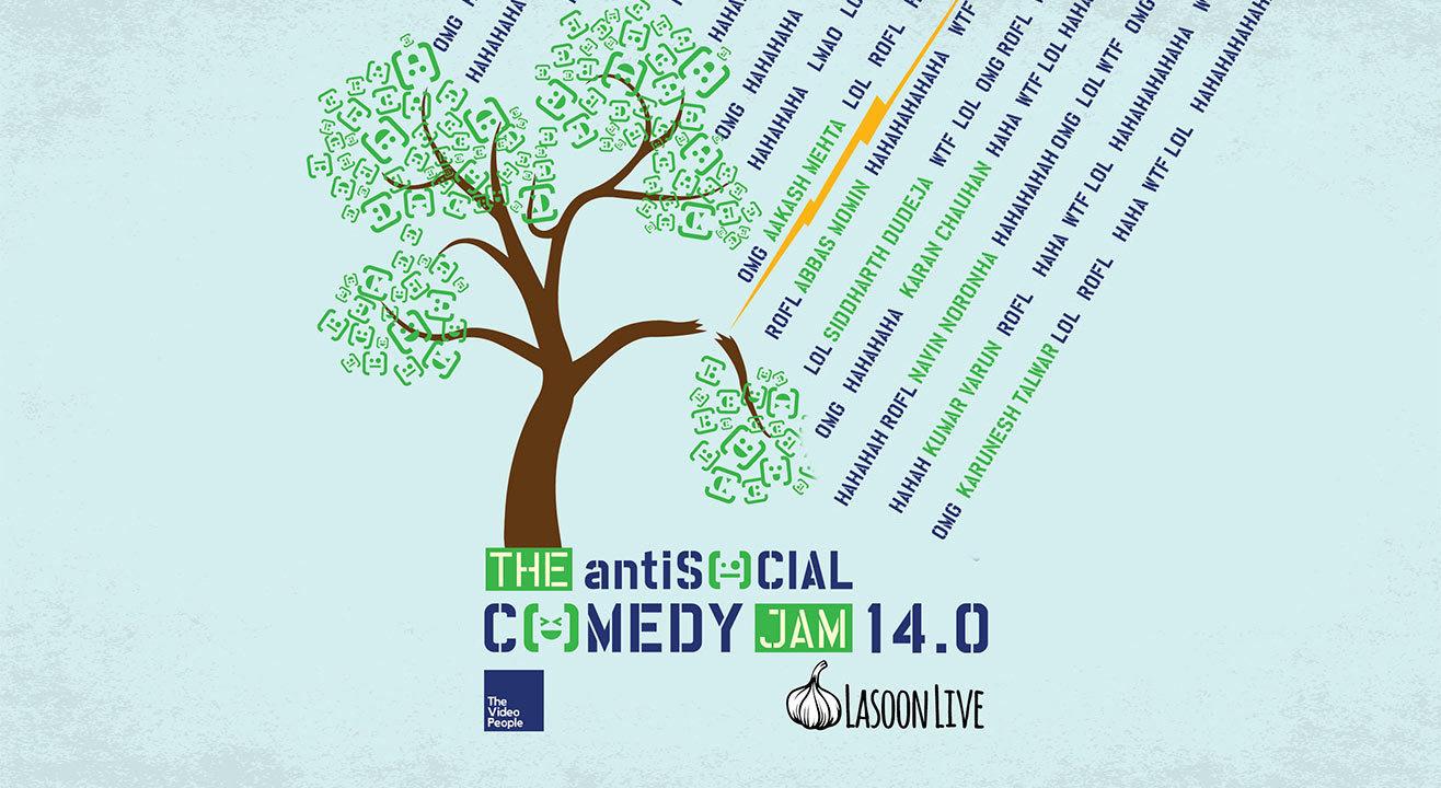 The antiSOCIAL Comedy Jam 14.0