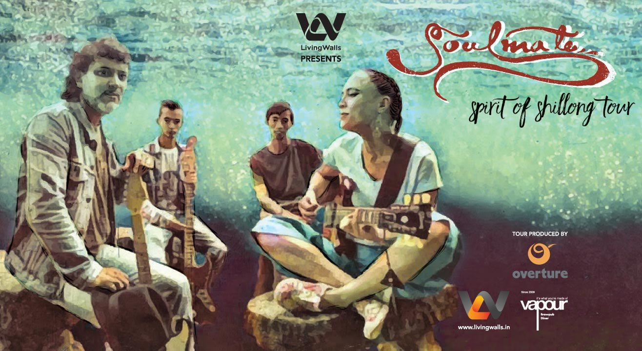 Living Walls presents Soulmate's 'Spirit of Shillong' India Tour, Hyderabad