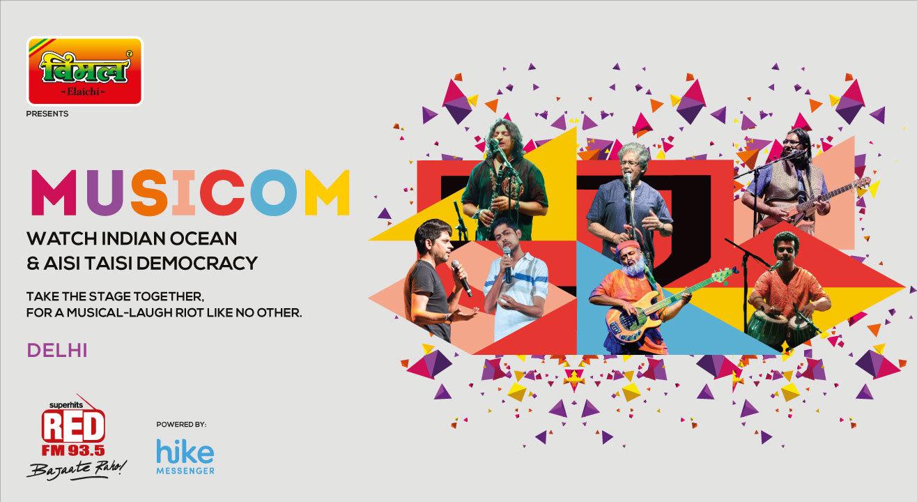 MusiCom ft. Aisi Taisi Democracy and Indian Ocean, Delhi
