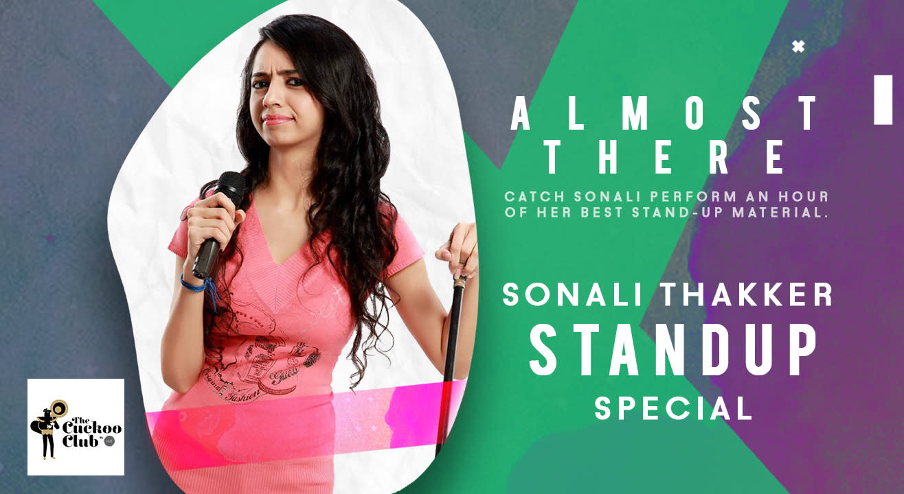 Almost There by Sonali Thakker