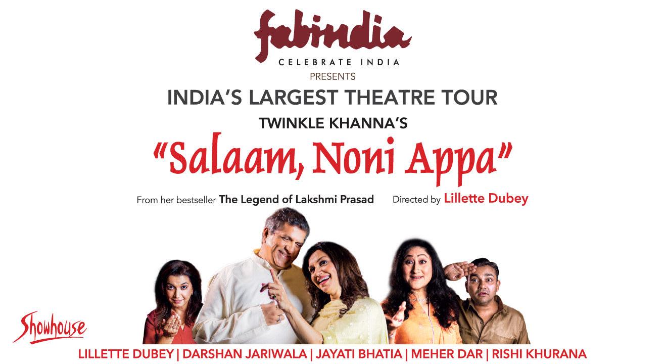 Salaam, Noni Appa, Bangalore