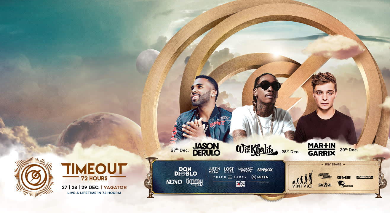 TIMEOUT 72 ft. Wiz Khalifa, Martin Garrix and Jason Derulo