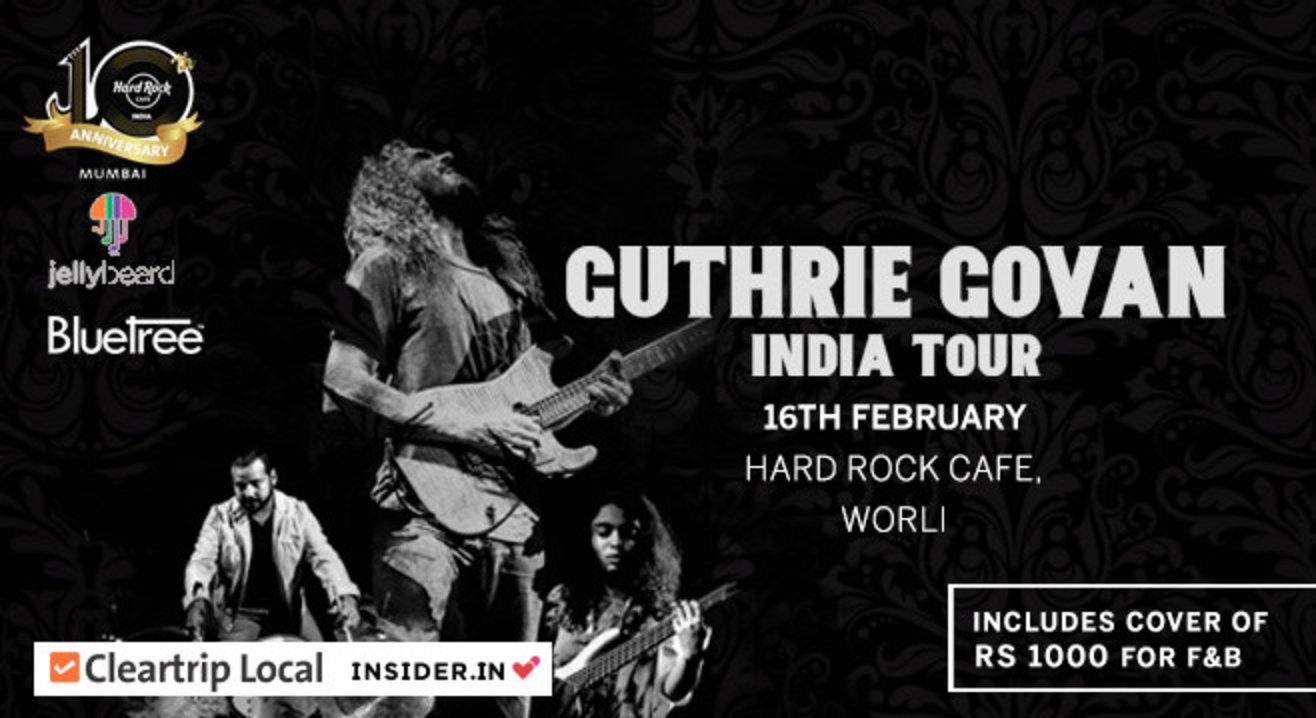 Guthrie Govan Live at Hard Rock Cafe Worli
