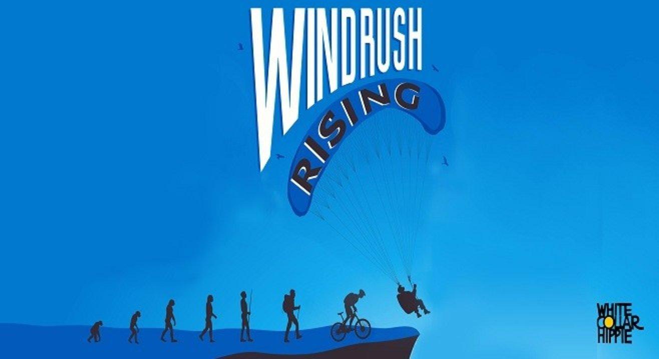 Windrush Rising! Trekking, cycling & paragliding