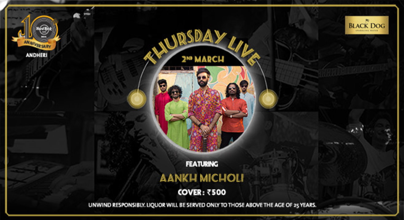 Thursday Live Featuring Aankh Micholi