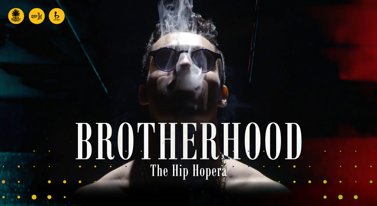 One man. 16 characters. 60 minutes. Why you should definitely watch Brotherhood: The Hip Hopera.