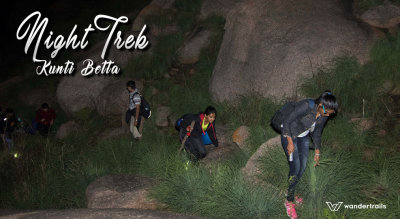 Night Trek at Kunti Betta