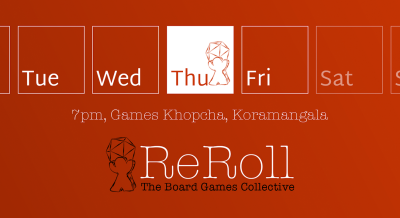 Tabletop Thursday, Bangalore