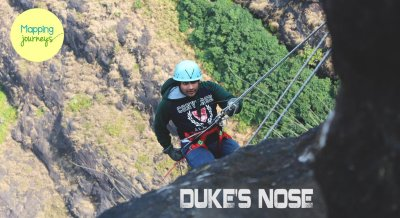 The Biggest Rappelling of Lonavala - Dukes Nose
