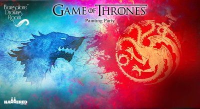 Game of Thrones Painting Party