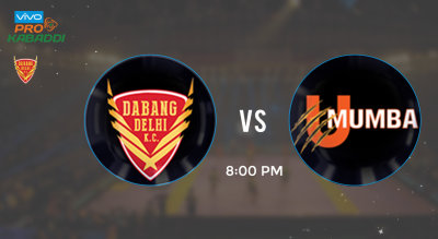 Pro Kabaddi Tickets - Dabang Delhi vs U Mumba