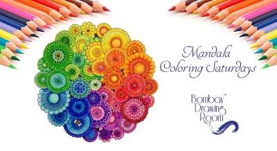 Mandala Coloring Saturdays